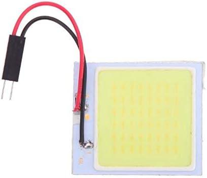 48 SMD COB LED T10 4W 12V Lumi/ère blanche Panneau int/érieur de voiture Lumi/ères D/ôme Lampe Light Car Interior Panel Lights Dome Lamp