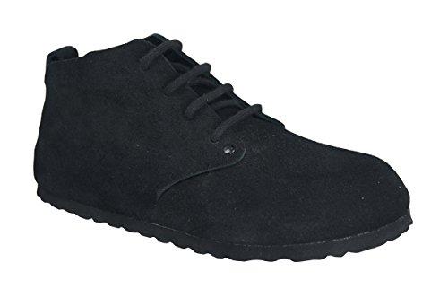 Birkenstock Original Dundee Suede Schmal, , Black, 692833 36,0