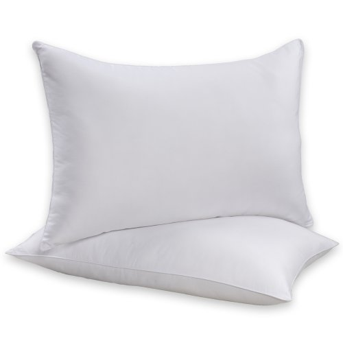 Beautyrest Bed Pillow - Beautyrest Sneeze Less Pillow, Two Pack, Standard