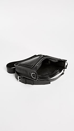 Bag Black Whipstich Mini Minkoff with Feed Unlined Rebecca SgPIqF