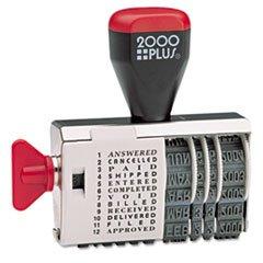 - Cosco 2000 Plus 12-Phrase Dial-N-Stamp
