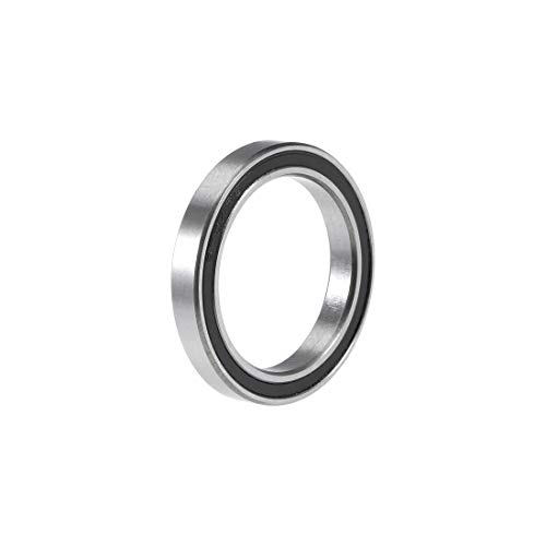 (uxcell 6704-2RS Deep Groove Ball Bearing 20x27x4mm Double Sealed Chrome Steel Bearings)