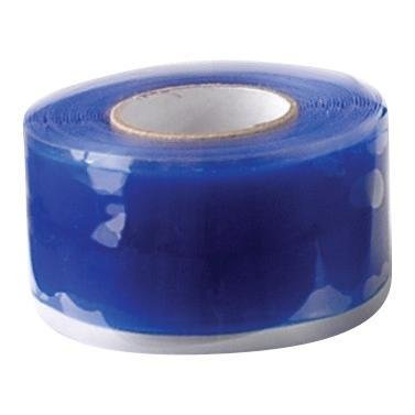 Self-Sealing Silicone Insulation and Repair Tape - Blue - 1inch x 10'