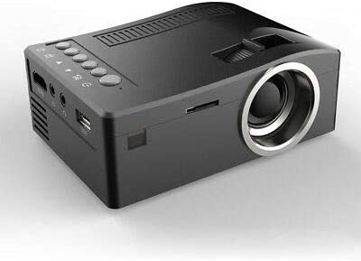 UC18 Mini Portable LCD Home Projector LED 1080p HD for Movie Theater Laptop O3F6