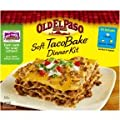 Old El Paso Soft Taco Bake Dinner Kit, 8.4 Ounce -- 12 per case. from General Mills