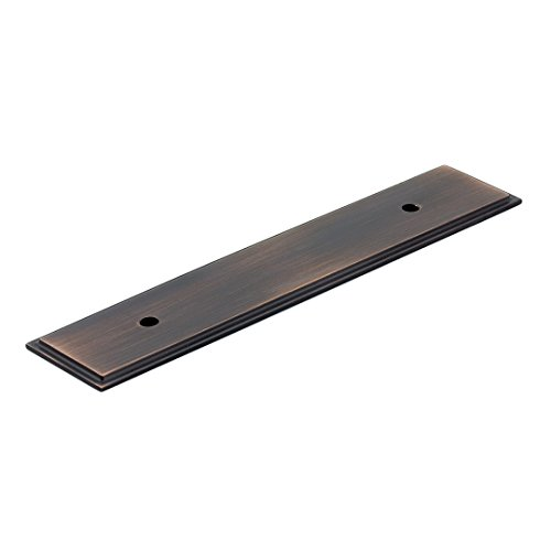 Richelieu Hardware BP104596BORB Transitional Metal Backplate for Pulls, 6.16