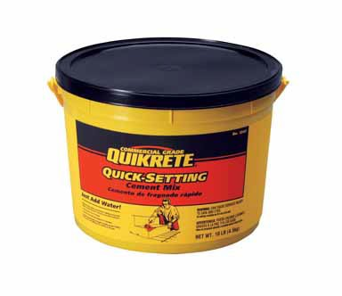 (Quikrete Quick Setting Cement 10 - 15 Min 10 Lb)