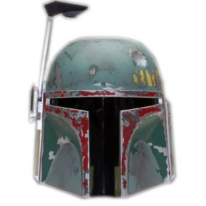 - Star Wars Boba Fett Scaled Helmet Replica