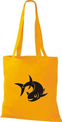 jaune pour fourre Shirtstown femme tout sac goldgelb It6Wq8w
