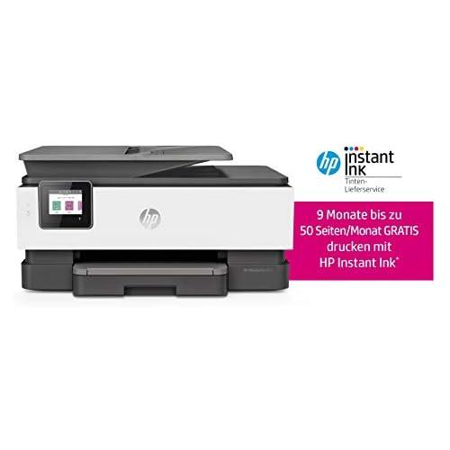 chollos oferta descuentos barato HP OfficeJet 8012 Impresora multifunción Tinta HP instantánea A4 Impresora escáner fotocopiadora WLAN Duplex HP ePrint AirPrint basalto 20 Seiten Min