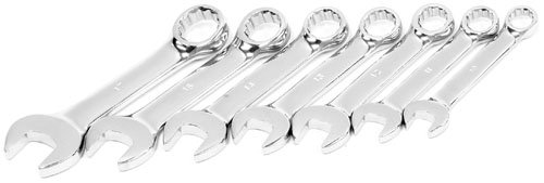 Tradespro 836599 SAE Stubby Wrench Set, 7-Piece