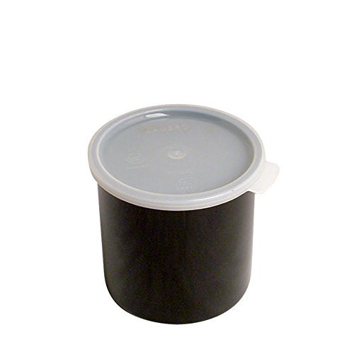 Cambro Manufacturing CP12110 Crock with Lid Black 1.2 qt (1 EACH)