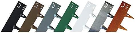Core Edge Lot de 5 bordures de jardin en acier flexible 100 mm plusieurs couleurs .