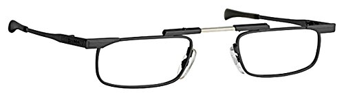 Japan Slimfold Model - SlimFold Reading Glasses by Kanda of Japan Model 1 Color Black Strength +1.25