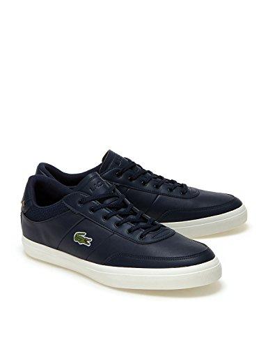 master Shoes Men's 118 Lacoste 2 Court Trainers Blu waE7UYxUq