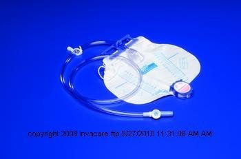 Covidien CURITY™ Anti-Reflux Bedside Drainage Bag-Style: ...
