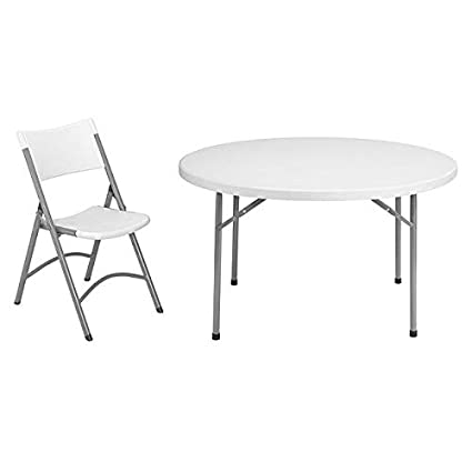 Amazoncom National Public Seating Nps 48 Inch Round Folding Table