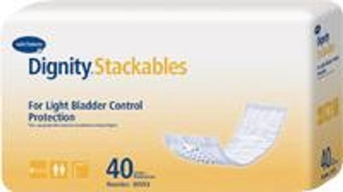 Dignity Lites Stackable Thin 3-1/2 x 12 [Pack of 40] by HARTMANN-CONCO