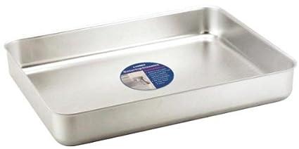 Bandeja profunda para el horno bandeja de aluminio para horno encimera para horno 37 x 27