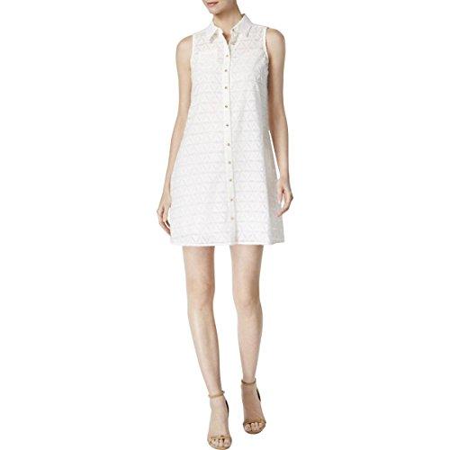 Calvin Klein Des Femmes De Shirtdress Pure Texturé 6
