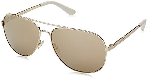 s Ju 589/s Aviator Sunglasses, Light Gold, 59 mm ()