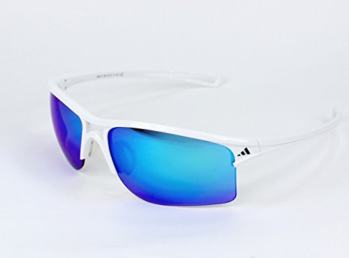 nbsp;Raylor nbsp;plástico adidas blanco 7051 con azul efecto gafas marrón 404 de un espejo sol hielo TqU0Xqg