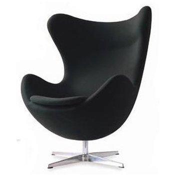 Amazoncom Arne Jacobsen Egg Chair Black Home Kitchen