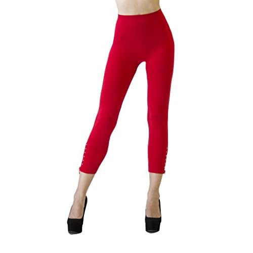 D&K Monarchy Women's Seamless Full Length Embellished Tights