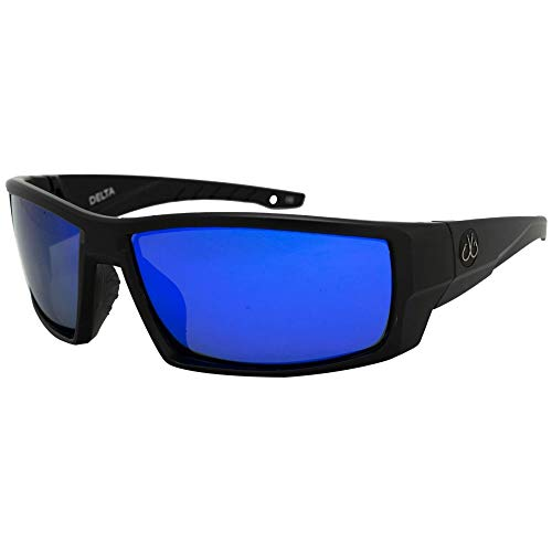 Filthy Anglers Delta Polarized Men's Fishing Sunglasses EP Blue Mirror Lens Sport Running Hiking