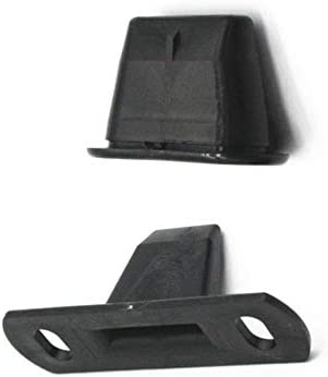 Para Fiat Scudo 1995-2006 Juego de localizador de puerta corredera lateral/Guía y pasador Nuevo y genuino 904637, 904645, 1487798080 - Negro: Amazon.es: Coche y moto