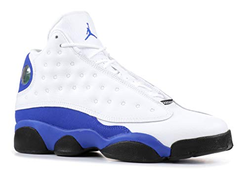 Retro BG, White/Hyper Royal-Black, Youth Size 7 ()