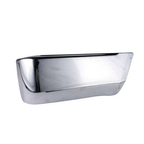 CarPartsDepot 355-44188-22 Rear Bumper End Side Cover Replacement W/ Flare Hole Chrome Right TO1105103