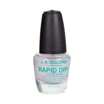 L.A. Colors Nail Treatment - Rapid Dry Top Coat 0.44 fl. oz.