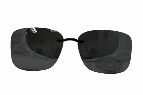 Silhouette Sunglasses Clip-On 5090 A1 0401 Polarized Gray - Eyewear Silhouette On Sunglasses Clip