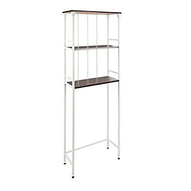 Silverwood Products Mixed Material Bathroom Collection 3 Tier Spacesaver