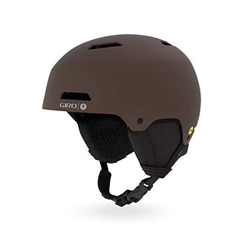 Giro Ledge MIPS Snow Helmet Matte Dark Brown Wolfgang MD 55.5-59cm