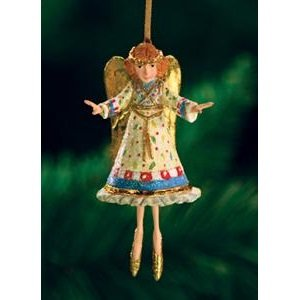 Patience Brewster Mini Heavenly Angel Ornament Christmas Holiday Tree - Christmas Pin Angel