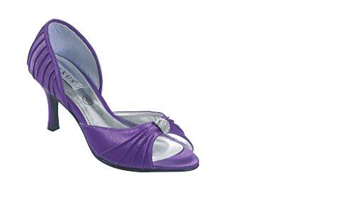 LEXUS - Zapatos de vestir para mujer púrpura - morado