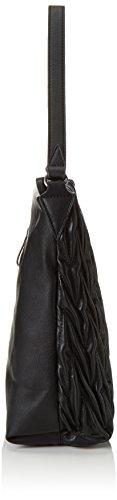 TamarisBESS Hobo Bag - bolsa de medio lado Mujer Schwarz (black comb 098)
