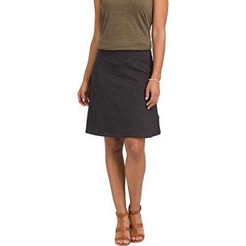 (prAna Women's Adella Skirt Black X-Small)