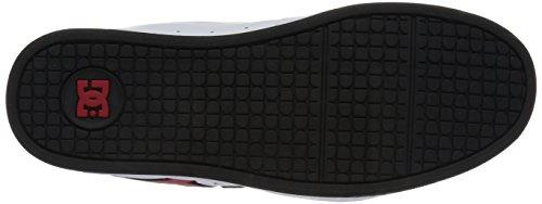 DC Net M - Zapatillas de deporte de cuero nobuck para hombre White (wda)