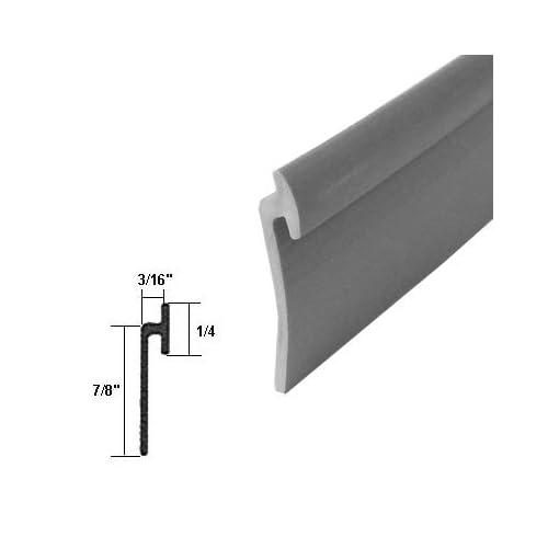 Outlet Angled Gray Vinyl Framed Shower Door Drip Rail 50
