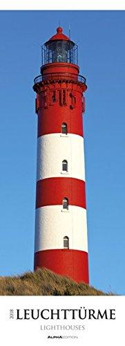 Leuchttürme 2018 - Lighthouses - Streifenkalender XXL (25 x 70) - Landschaftskalender