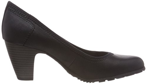 black Negro 22404 oliver S Tacón Zapatos 21 Para 1 De Mujer pwzdzxq