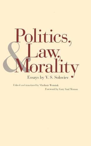 Politics, Law, and Morality: Essays by V. S. Soloviev -  Vladimir Soloviev, Hardcover