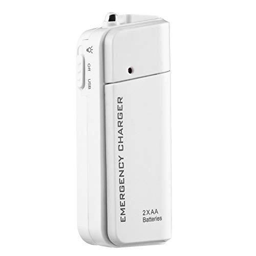 Yaoaoesn 1pc Cargador USB portátil AA Batería Externa Cargador de ...