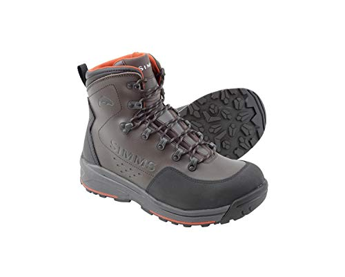 (Simms Freestone Wading Boot for Men, Lightweight, Rubber Sole, Waterproof, Durable, Superior Traction)
