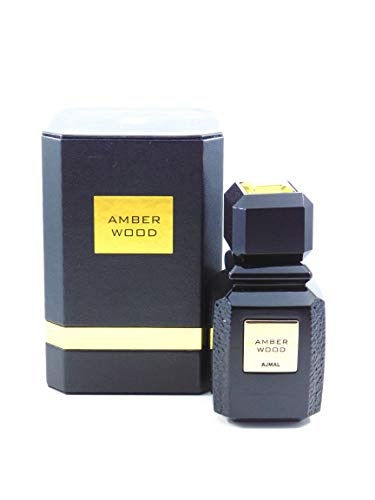 Ajmal Amber Wood for Men and Women Unisex EDP – Eau De Parfum 100ML 3.4 oz