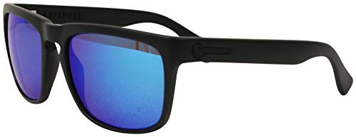 Electric Knoxville XL Sunglasses - Matte Black/OHM Grey Blue