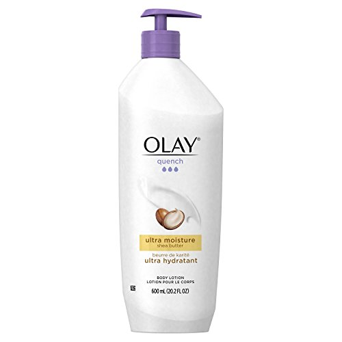 Olay Quench Body Lotion Ultra Moisture with Shea Butter and Vitamins E and B3, 20.2 oz (Pack of - Quench Skins